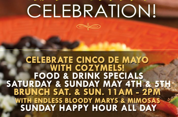 Cinco De Mayo at Cozymels